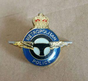 met police driving pin